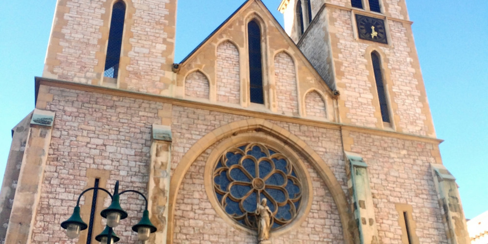Сараево: Собор Святого Сердца, Федерация Босния (Сараево, Тузла, Зеница) и Брчко, Босния и Герцеговина