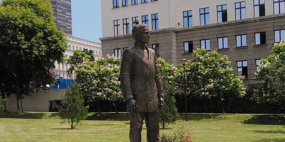 Belgrade: Gavrilo Princip Statue, Белград, Запад (Новый Пазар, Крагуевац, Чачак, Кралево, Ужице), Сербия