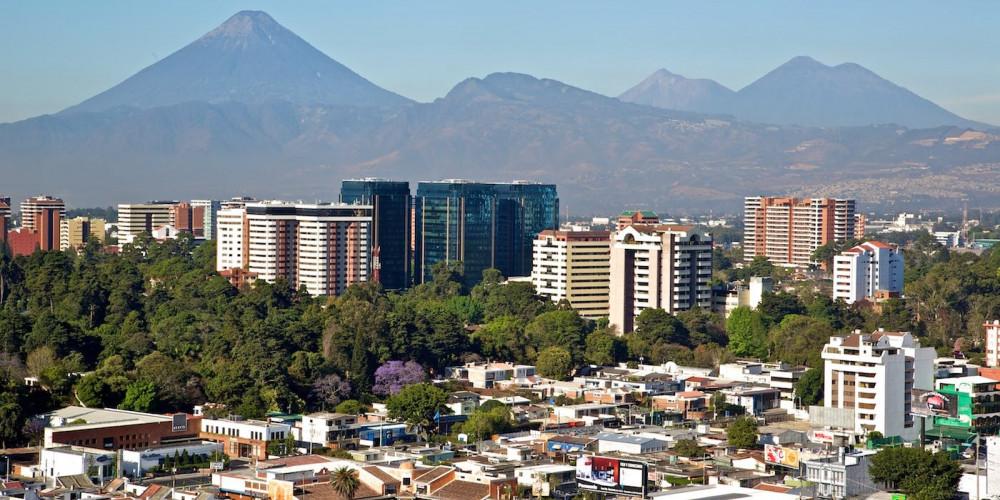 Город Гватемала, Центральная и Карибская (Гватемала, Антигуа, Кобан, П. Барриос), Гватемала