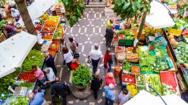 Лучшие местные продовольственные рынки в Португалии