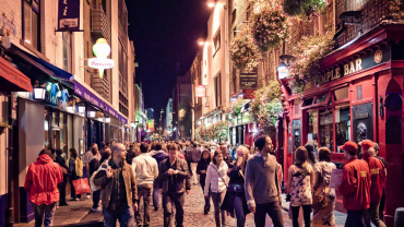 Темпл-бар и сеть пабов Дублина