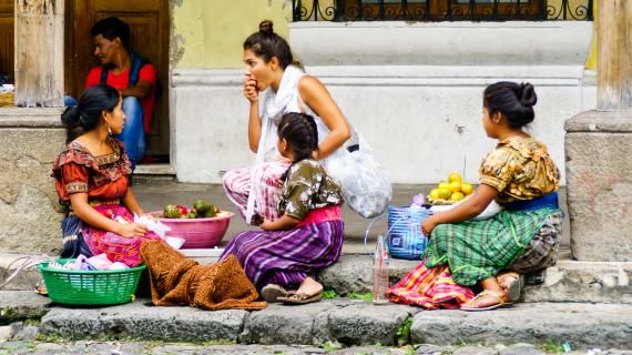 Гватемала в фотографиях